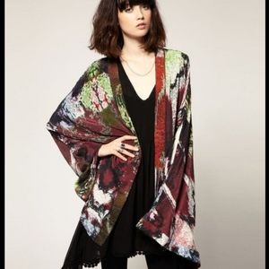 Free People One Teaspoon Arizona Kimono, Sz 6/M